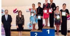 """Поздравляем с победой на рейтинге МФТС Ровнина Назара и Смагину Марию тск """"Данс-Мастер""""!!!"""